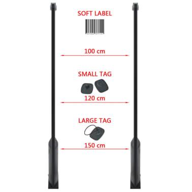 vidaXL RF antenos sistema su siųstuvu bei gavėju, 8,2 MHz, juoda[7/8]