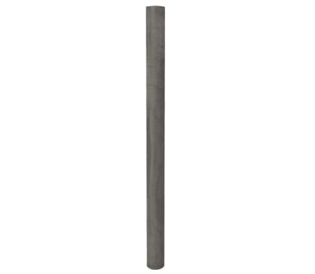 vidaXL Mesh Screen Stainless Steel 100x500 cm Silver