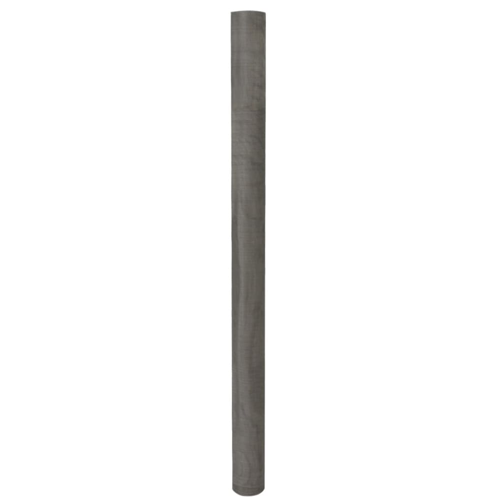 vidaXL Plasă de sârmă, argintiu, 150 x 500 cm, oțel inoxidabil poza vidaxl.ro