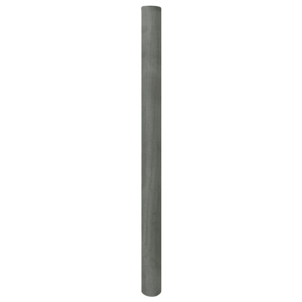 vidaXL Pletivo pozinkované železo 100x500 cm