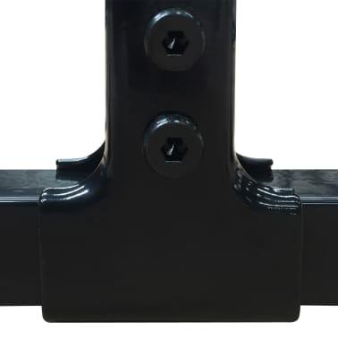 vidaXL Vzdržljiv zunanji pasji boks s streho 2x2 m[4/5]