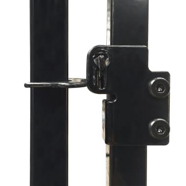 vidaXL Vzdržljiv zunanji pasji boks s streho 2x2 m[5/5]
