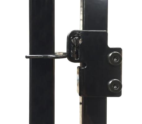 vidaXL Vzdržljiv zunanji pasji boks 2x2 m[4/4]