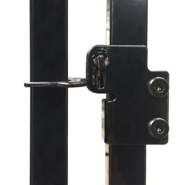 vidaXL Vzdržljiv zunanji pasji boks 120x120 cm[4/4]
