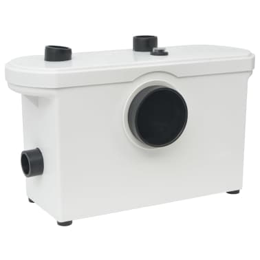vidaXL Pompă tocător WC, 600 W, alb[1/6]