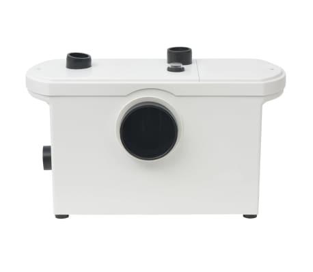 vidaXL Bomba maceradora blanca 600 W[2/6]