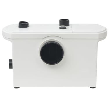 vidaXL Pompă tocător WC, 600 W, alb[2/6]