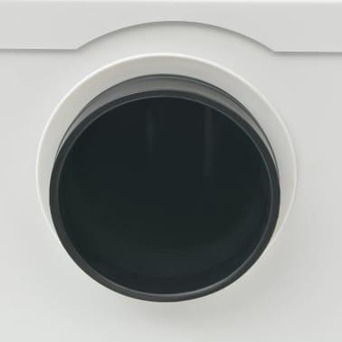 vidaXL Pompă tocător WC, 600 W, alb[3/6]