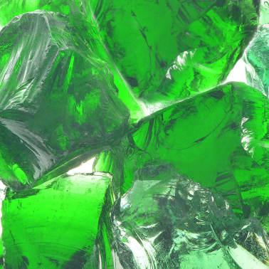 vidaXL Akmenys gabionui, stiklas, žalia spalva, 60-120 mm, 25 kg[2/8]