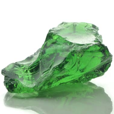 vidaXL Akmenys gabionui, stiklas, žalia spalva, 60-120 mm, 25 kg[8/8]