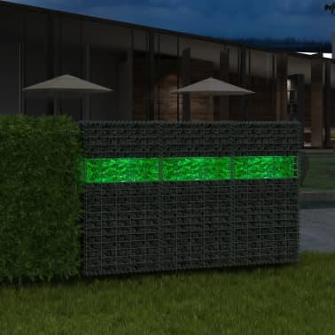 vidaXL Akmenys gabionui, stiklas, žalia spalva, 60-120 mm, 25 kg[1/8]