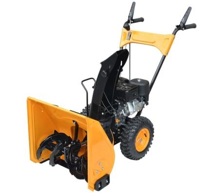 vidaXL Sneeuwblazer 6,5 HP geel en zwart