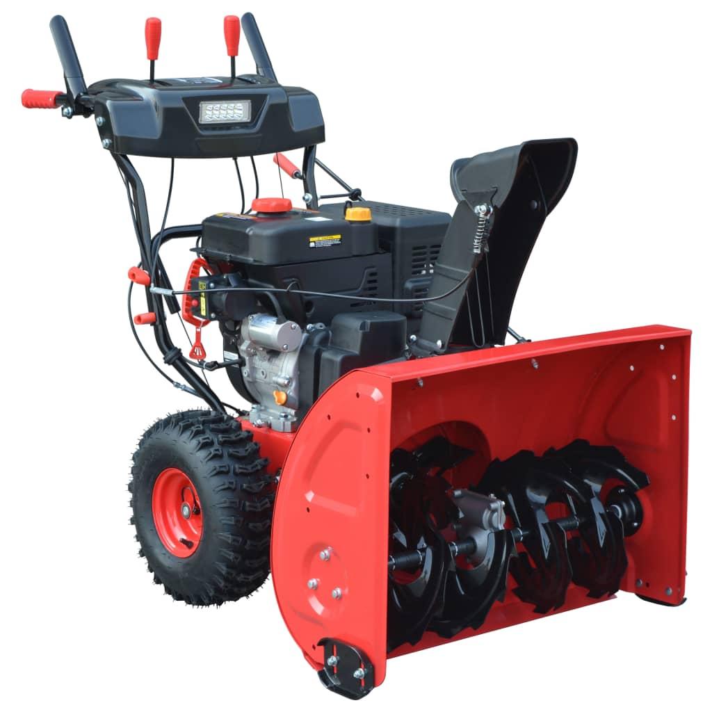 Afbeelding van vidaXL Sneeuwblazer elektrische/handmatige start 2-fasig 302 cc 11 pk