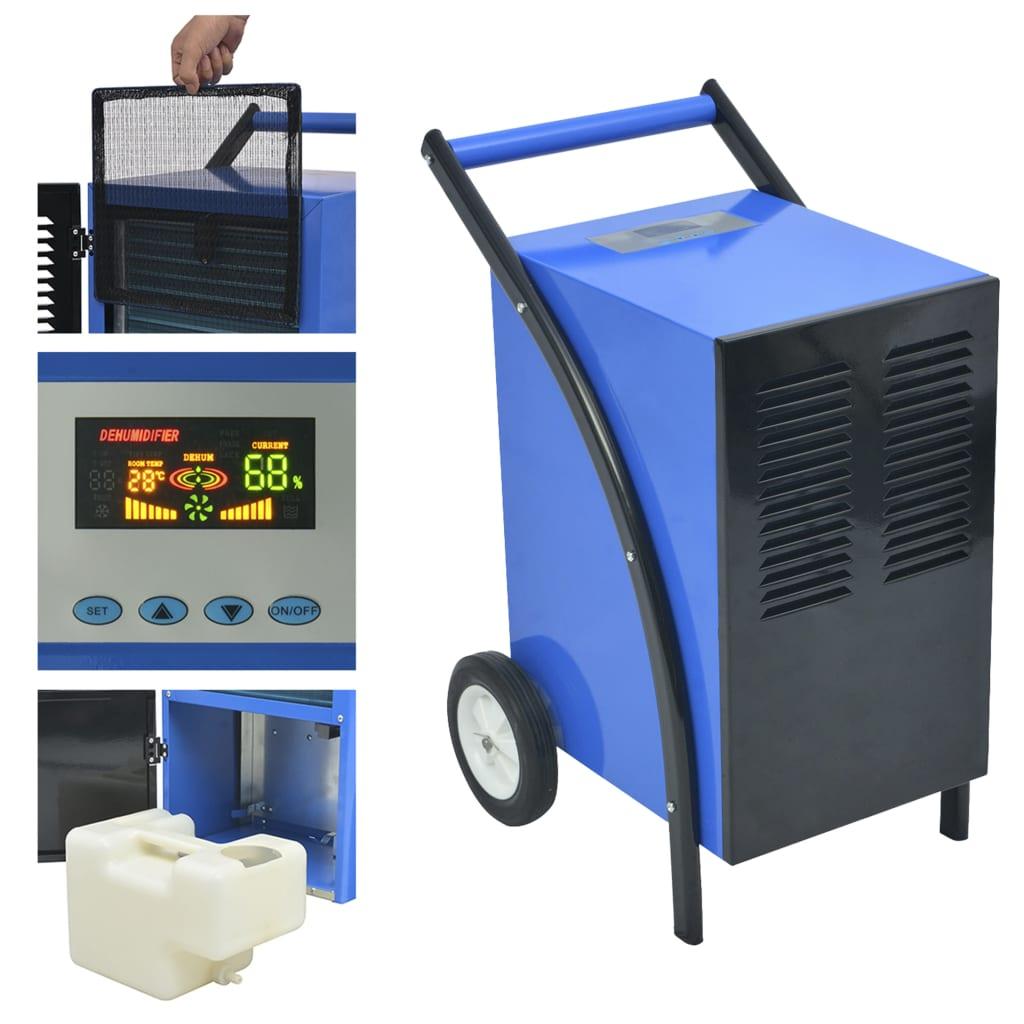 vidaXL Dezumidificator cu sistem dezghețare cu gaz cald, 50L/24h 860W poza 2021 vidaXL
