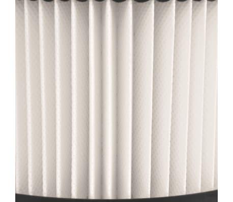 vidaxl hepa filter f r aschesauger 3 stk wei und schwarz g nstig kaufen. Black Bedroom Furniture Sets. Home Design Ideas