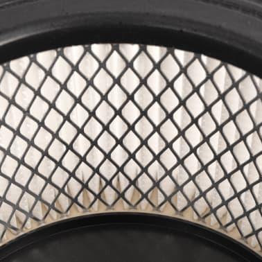 vidaXL HEPA filtrai skirti pelenų siurbliui, 3 vnt., balti ir juodi[3/5]