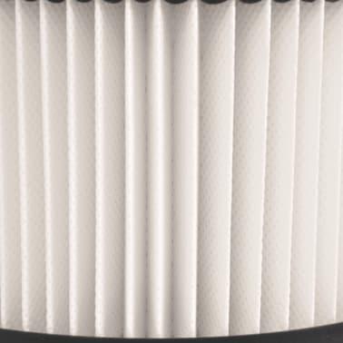 vidaXL HEPA filtrai skirti pelenų siurbliui, 3 vnt., balti ir juodi[4/5]