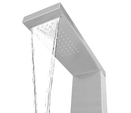 vidaXL bruserpanelsystem i rustfrit stål firkantet[5/9]