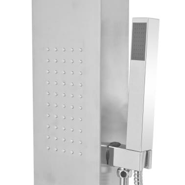 vidaXL bruserpanelsystem i rustfrit stål firkantet[7/9]