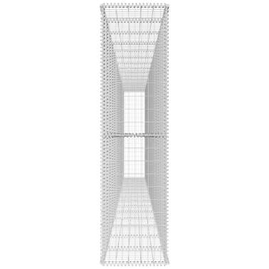 vidaXL Gabiono siena su dang., 600x50x200cm, galvanizuotas plienas[4/6]