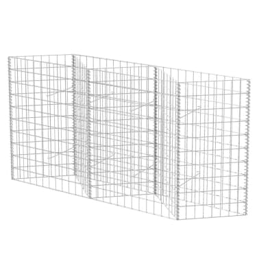 "vidaXL Gabion Basket/Planter/Raised Vegetable Bed 59""x11.8""x39.4""[2/6]"