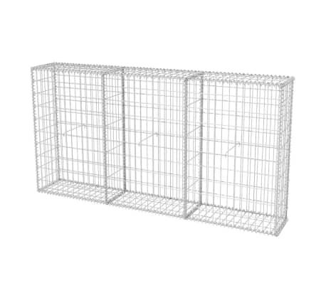 "vidaXL Gabion Basket Steel 78.7""x11.8""x39.4""[1/5]"