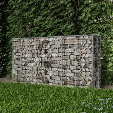 "vidaXL Gabion Basket Steel 78.7""x11.8""x39.4""[3/5]"