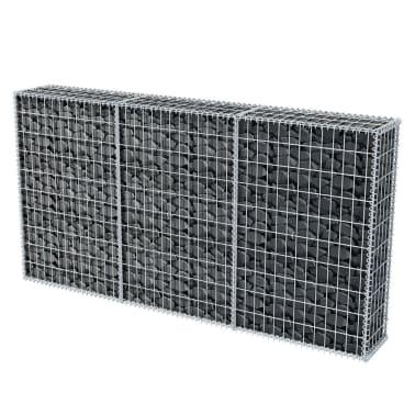 "vidaXL Gabion Basket Steel 78.7""x11.8""x39.4""[4/5]"