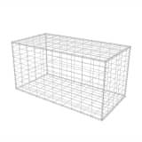vidaXL Gabion Basket Steel 100x50x50 cm