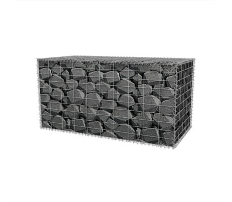 "vidaXL Gabion Basket Steel 39.4""x19.7""x19.7""[3/6]"