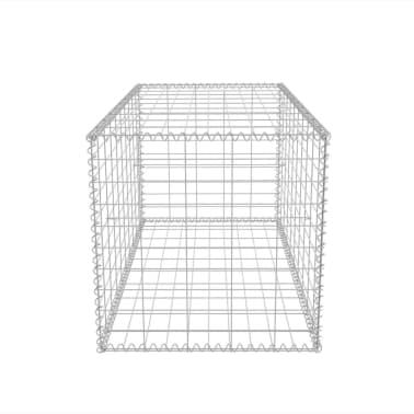 """vidaXL Gabion Basket Galvanised Steel 39.4""""x19.7""""x19.7""""[5/7]"""