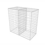 vidaXL Gabionenkorb Stahl 100×50×100 cm