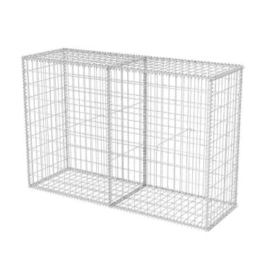 vidaXL Gabionkorg stål 150x50x100 cm[2/6]