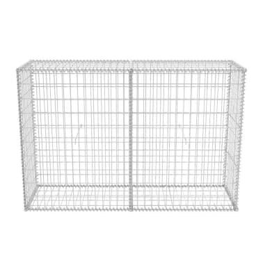 vidaXL Gabionkorg stål 150x50x100 cm[4/6]