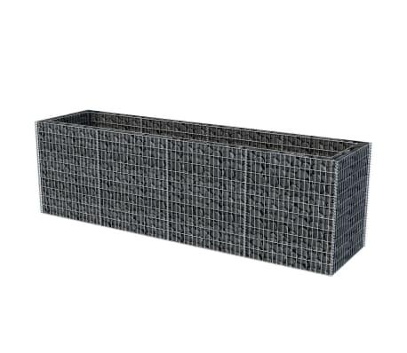 vidaXL Gabion stålpotte 360x90x100 cm[3/6]