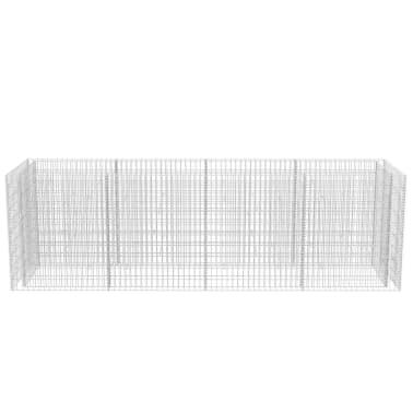 vidaXL Gabion stålpotte 360x90x100 cm[4/6]