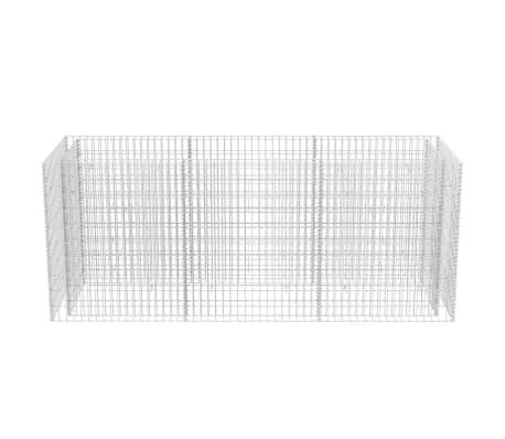 vidaXL Gabion stålpotte 270x90x100 cm[4/6]