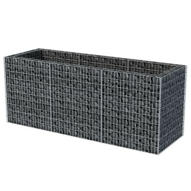 vidaXL Gabion stålpotte 270x90x100 cm[3/6]
