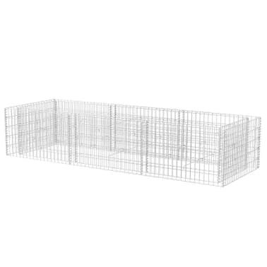 vidaXL Gabion stålpotte 270x90x50 cm[2/6]