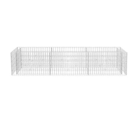 vidaXL Gabion stålpotte 270x90x50 cm[4/6]