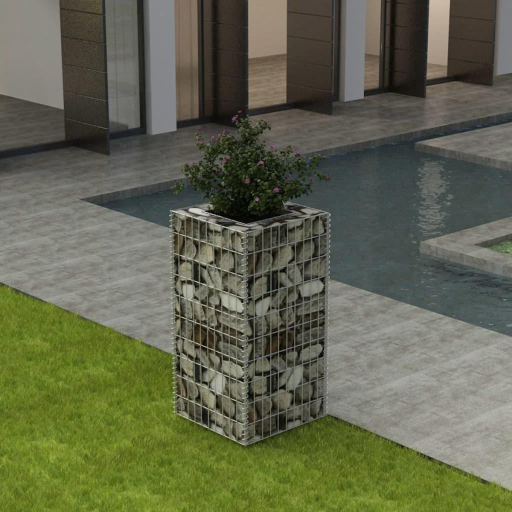 vidaXL Ocelový gabionový truhlík 50 x 50 x 100 cm