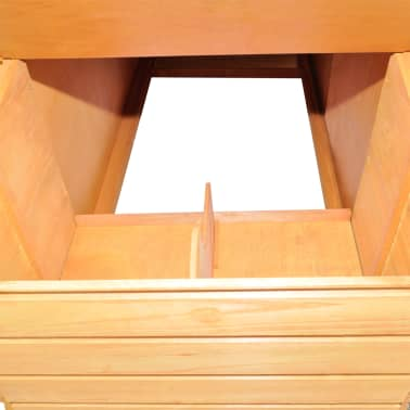 "vidaXL Chicken Coop Wood 116""x64.2""x67""[4/8]"