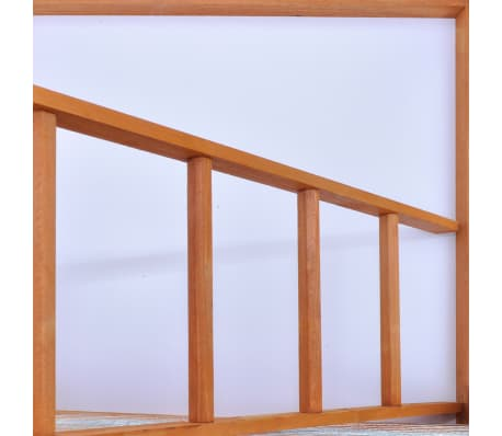"vidaXL Bird Cage Wood 25.6""x24.8""x65""[4/5]"