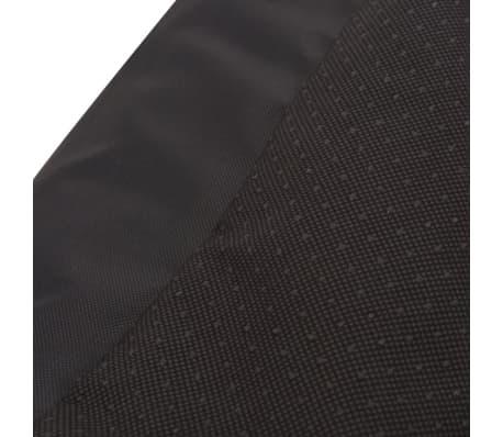 vidaXL suņu gulta ar polsterētu spilvenu, XL izmērs, melna[5/5]