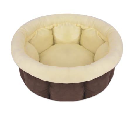 vidaXL Colchón para perro tamaño XL marrón[1/4]