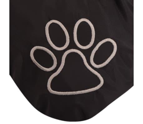 vidaXL Hondenmatras maat L zwart[3/3]