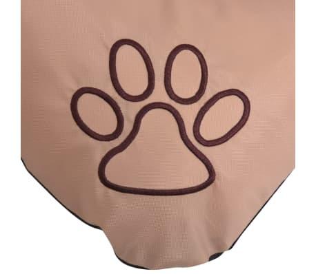 vidaXL Colchón para perro tamaño XL beige[3/3]