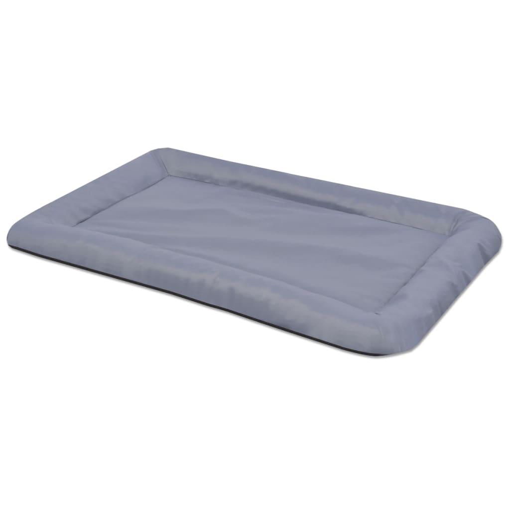 vidaXL Psí matrace, velikost L, šedá