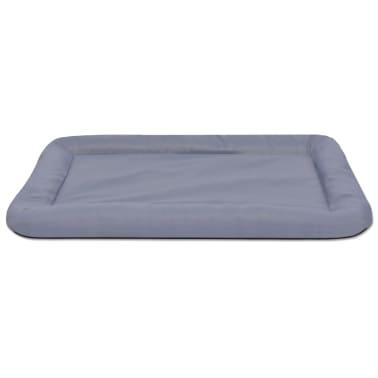 acheter vidaxl matelas pour chiens taille l gris pas cher. Black Bedroom Furniture Sets. Home Design Ideas