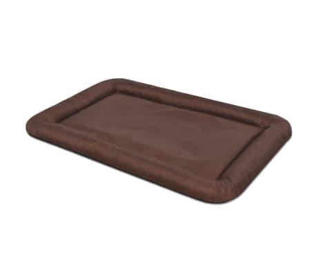 acheter vidaxl matelas pour chiens taille s marron pas cher. Black Bedroom Furniture Sets. Home Design Ideas